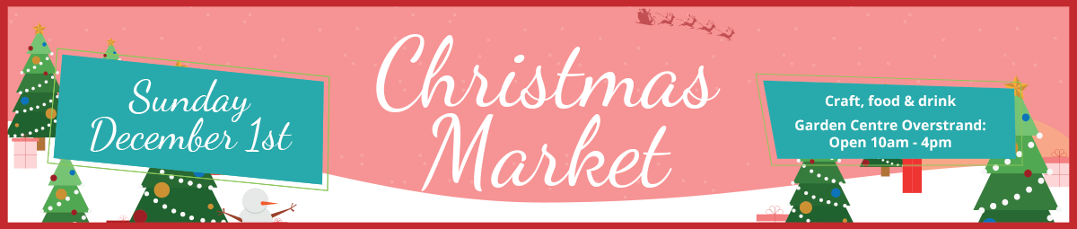 christmas market at the overstrand garden centre