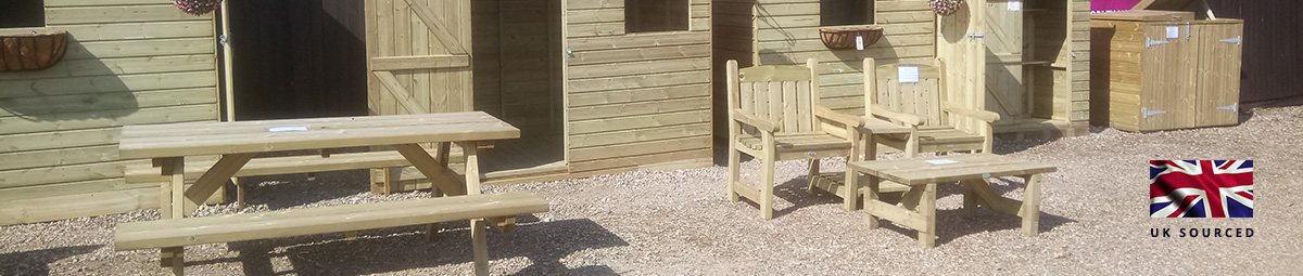uk sourced garden furniture